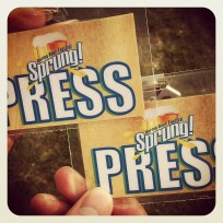 Sprung! Press Pass - Check!