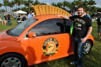 Orange Shock Top Buggy