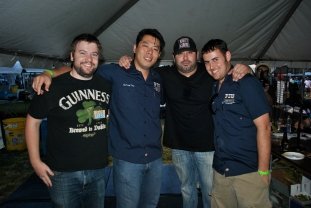 Graham managed to get a shot with the FIU experts + Chef Ramos of Barley + Swine.